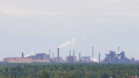 SSAB:n Raahen tehdas on suurin yksittäinen hiilidioksidipäästöjen lähde Suomessa.
