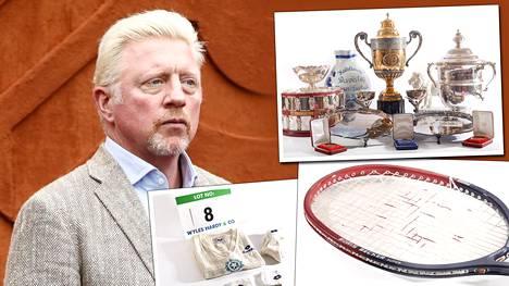 Boris Becker myy kaikkea mahdollista huutokaupassa saadakseen helpotusta taloushuoliinsa.