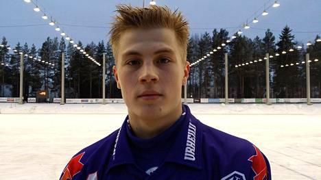 Jimi Heinonen kuuluu hallitsevan Suomen mestarin Botnian tärkeimpiin pelaajiin.
