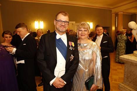 Juha ja Minna-Maaria Sipilä