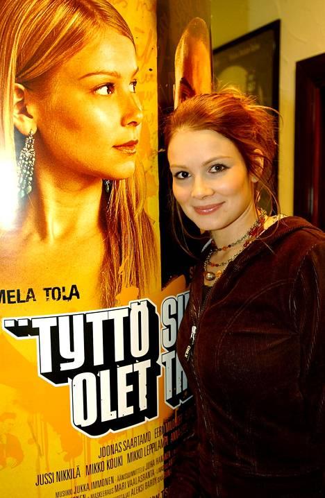 Tyttö sinä olet tähti -elokuva oli Tolan ensimmäinen päärooli täyspitkässä elokuvassa. Kuva vuodelta 2005.