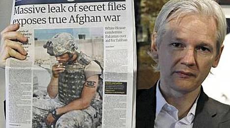 Julian Assange on Wikileaks -sivuston perustaja.
