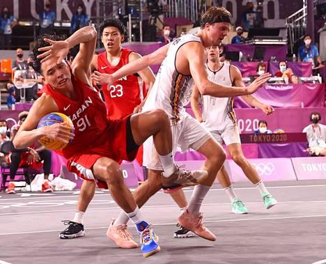 Belgian miesten joukkue kohtasi isäntämaa Japanin lauantai-iltana.