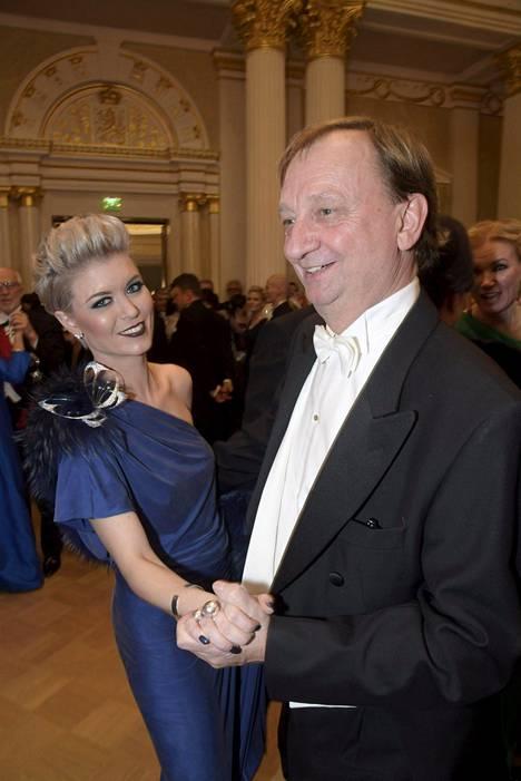 Susanna Koski ja Harry Hjallis Harkimo.