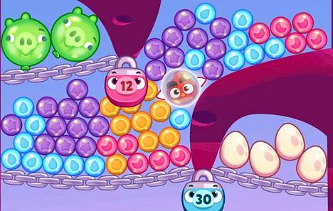 Tekoäly testasi käyttäjien Angry Birds Dream Blastiin tekemiä kenttiä.