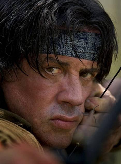 Sylvester Stallone on jälleen John Rambo.