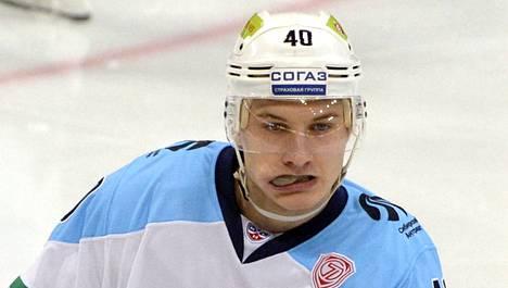 Jarno Koskiranta oli keskiviikon suomalaisnimi KHL:ssä.
