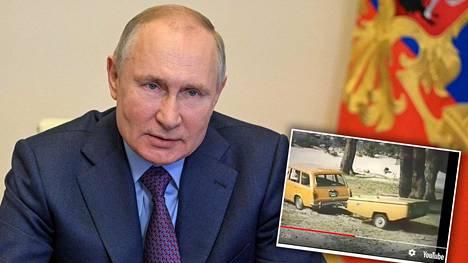 Vladimir Putinin Skif-peräkärry herättää venäläisissä uteliaisuutta. Kukaan ei ole nähnyt kuvaa Putinin peräkärrystä, mutta Neuvostoliiton ajoilta muistetaan muun muassa teltaksi muokkautuva Skif-malli.