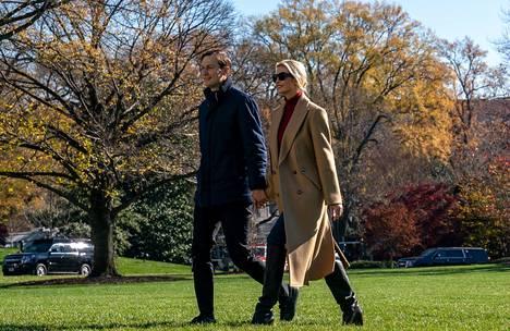 Myös Trumpin tytär Ivanka suunnittelee muuttoa Floridaan yhdessä puolisonsa Jared Kushnerin kanssa.