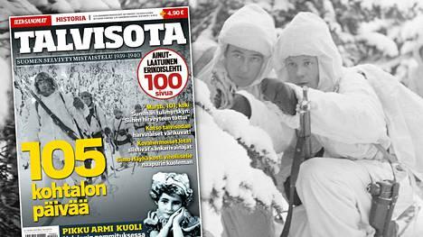 Talvisota-erikoislehti on myynnissä lehtipisteissä rajoitetun ajan yhdessä Ilta-Sanomien kanssa.