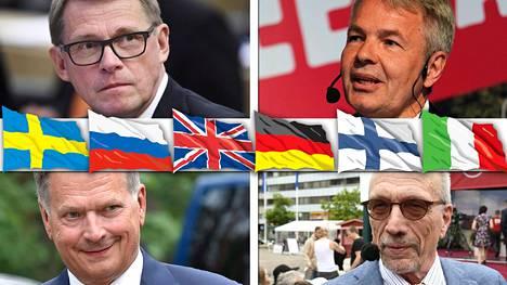 Kaikilta presidenttiehdokkailta sujuu suomi, ruotsi ja englanti.