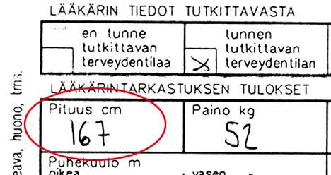 Tässä Viivi Pumpasen virallinen lääkärintodistus lääkärikeskus Mehiläisestä viime maanantailta.