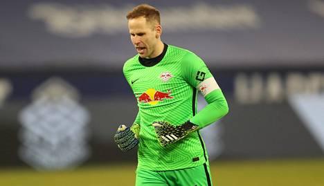 Unkarin maajoukkuevahti Peter Gulacsi on edustanut saksalaisseura Leipzigiä kesästä 2015.