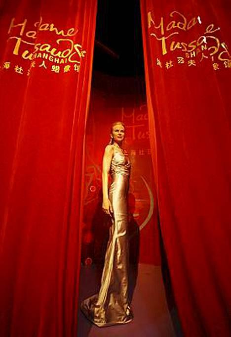 Ihailtu Nicole Kidman sai juuri näköisnuken Madame Tussaudsin kuuluun vahakabinettiin Shanghaihin.