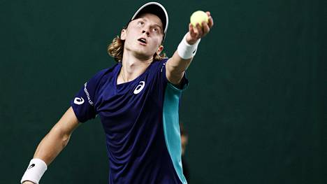 Emil Ruusuvuori eteni karsinnoista pääsarjaan ATP-turnauksessa Ranskassa. Arkistokuva.