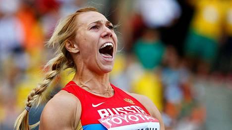 Maria Abakumova jäi kiinni dopingtestinsä uusinta-analyysissä.