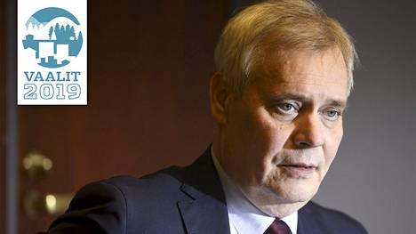 Sdp:n puheenjohtaja Antti Rinne STT:n puheenjohtajahaastattelussa Helsingissä 21. maaliskuuta 2019.