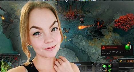 24-vuotias Miisa Nuorgam on monessa eri kilpapelitoiminnassa mukana.