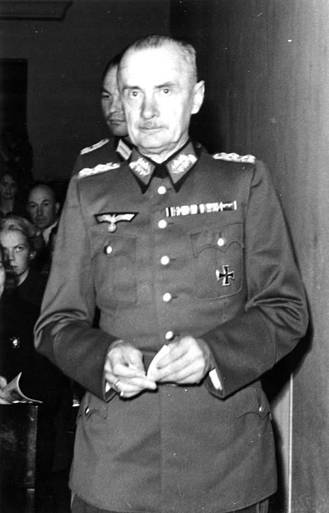 Mannerheimin päämajaan lähetetty jalkaväenkenraali Waldemar Erfurth oli paitsi kokenut upseeri myös sotahistorioitsija.