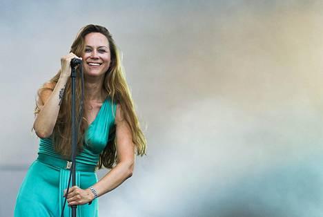 Kokkonen esiintyi Scandinavian Music Groupin kanssa Flow-festivaaleilla viime kesänä.