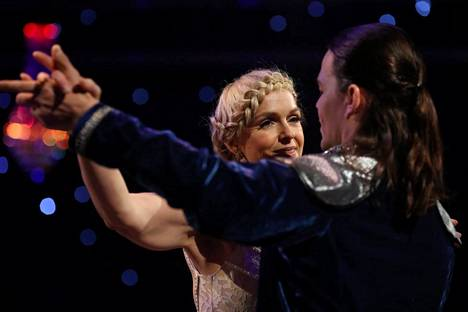 Anu Sinisalo ja Jani Rasimus
