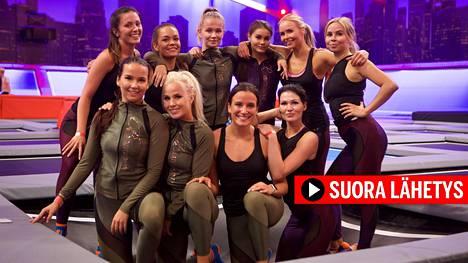 Myös viime vuonna Miss Helsinki -kaunottaret ottivat mittaa toisistaan.