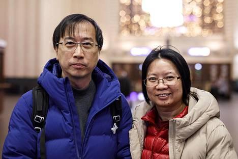 Yiu Wah Yeung ja Sin Wai Lai Hongkongista.