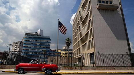 Yhdysvaltain viranomaisten mukaan viimeisimmät sen lähetystöön kohdistuneet epäillyt äänihyökkäykset ovat tapahtuneet elokuussa.
