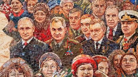 Kirkkoon suunnitellussa mosaiikissa on presidentti Vladimir Putinin lisäksi kuvattuna muitakin Venäjän johdon merkkihenkilöitä, jotka päättivät Krimin niemimaan valtauksesta Ukrainalta keväällä 2014.