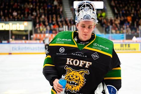 Lukas Dostal loistaa Ilveksen maalilla.