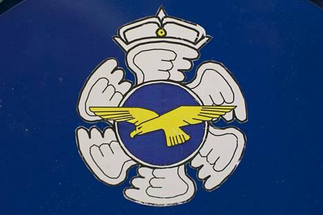 Suomen ilmavoimien tunnus.