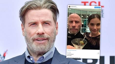John Travolta vaihtoi kaljuun äskettäin.