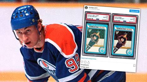 Wayne Gretzkystä on olemassa markkinoilla lukuisia kortteja, mutta vain osa on arvokkaita.