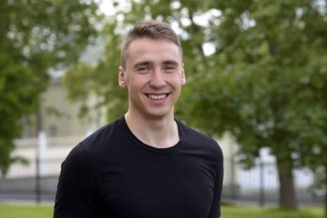 Henri Väyrynen opiskelee lääketiedettä Oulun yliopistossa.