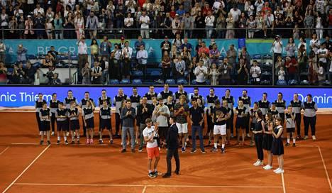 Novak Djokovicin järjestämä Adria Tour päättyi skandaaliin, kun usealla pelaajalla todettiin koronavirustartunta.