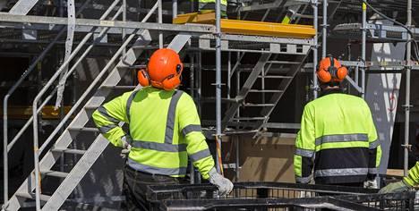 Rakennusala sanoo tarvitsevansa ulkomaista työvoimaa.