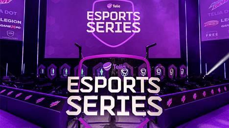 """Telia Esports Series on operaattorin oma kilpasarja. Slogan on """"rise to the top"""" eli nouse huipulle."""