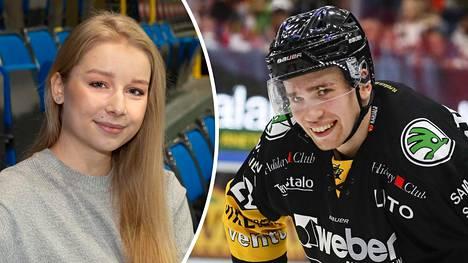 Viveca Lindfors on seurustellut liigapelaaja Santeri Virtasen kanssa viime kesästä lähtien.