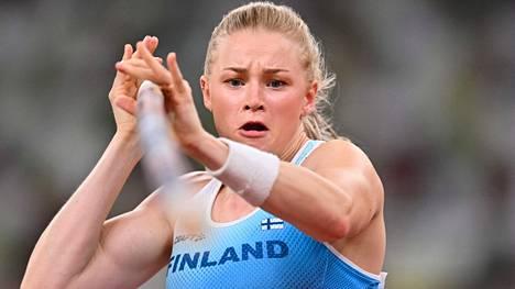 Wilma Murto sijoittui jaetulle viidennelle sijalle Tokion olympialaisten naisten seiväsfinaalissa.