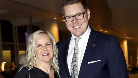 Kaija Stormbomin ja kansanedustaja Antti Lindtmanin tytär syntyi 21. marraskuuta 2017.