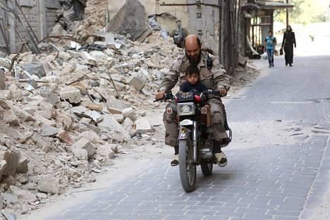 Alepposta on taisteltu jo vuosia.