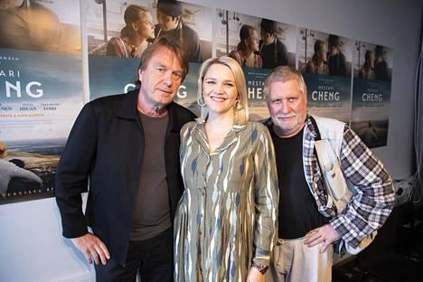 Mika Kaurismäen elokuvan pääroolissa on Anna-Maija Tuokko. –Hänestä tulee yksi tämän maan kovimpia näyttelijöitä, Kari Väänänen kehuu.