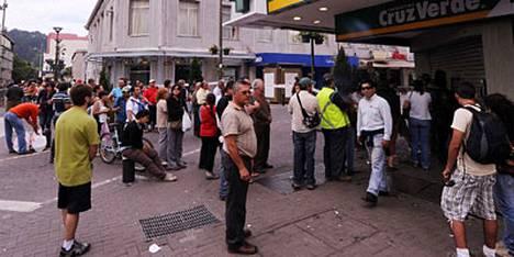 Chileläinen Concepcionin kaupunki siirtyi 27. helmikuuta tapahtuneessa maanjäristyksessä 3,04 metriä länteen.