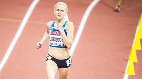 Sandra Eriksson on yksi harvoista suomalaisurheilijoista, joilla on realistiset mahdollisuudet taistella loppukilpailupaikasta Pekingin MM-kisoissa.
