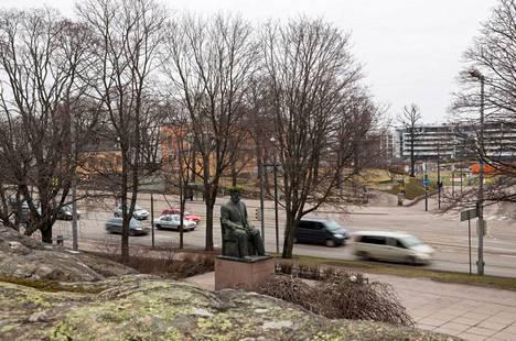 15. Näkymä Hakasalmen huvilalle vuonna 2014.