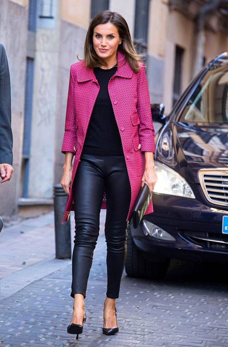 Kuningatar Letizia Madridissa.