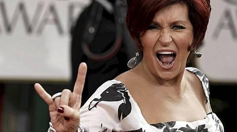 Sharon Osbournesta tulee pian omien sanojensa mukaan helvetillinen mummo.