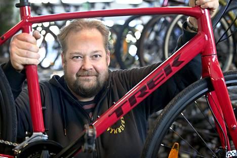Nordic Bike Leasingin Jani Lundberg.