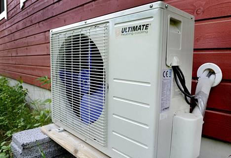 Ilmalämpöpumppu voi laskea energiankulutusta useita kymmeniä prosentteja.