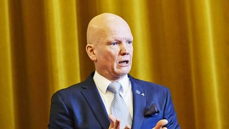 Tero Vauraste tuli Nurminen Logisticsin johtoon vasta viime joulukuussa.